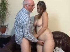 Opa Fickt Mollige Enkelin