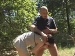 Deutsche Amateure beim Strassen Fick