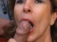 Spermaschlacht mit reifer Mutter