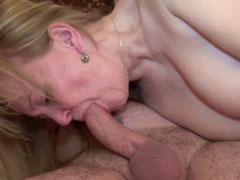 Altes Ehepaar zum ersten mal vor der Porno Kamera