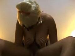 Echt geiler Tittenfick mit schönen natur Brüsten