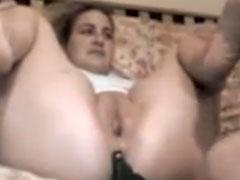 Die geile Nachbarin anal gefickt