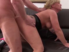 Busty amateur anal