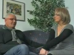 Opa in seinem ersten Pornofilm