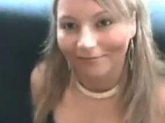 Süsses Mädel abgeschleppt und beim Sex gefilmt