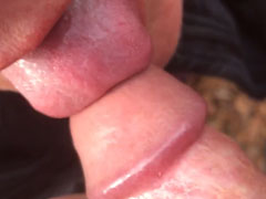 Reife Mutter hat gerne Schwänze im Mund