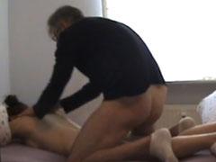 Opa fickt seine neue Freundin