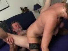 Wenn reife Paare beim Sex gefilmt werden