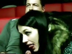Heisser Fick im Porno Kino