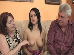 Deutscher Mutter, Tochter Guppensex Porno