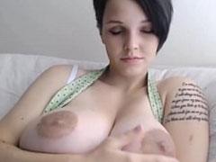 Große hängende brüste