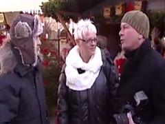 Deutsche Oma abgeschleppt und gefickt