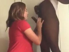 Amateur Ehefrau will schwarzen Schwanz